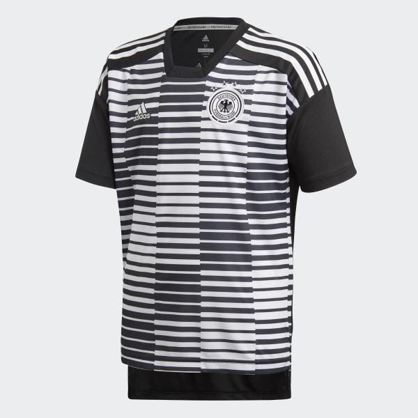 99b9c7b8508b Koszulka przedmeczowa reprezentacji Niemiec White Black CF2448