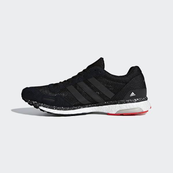 new arrival a04a2 2f677 Adizero Adios 3 Shoes Hi-Res Red  Core Black  Bright Blue CM8356