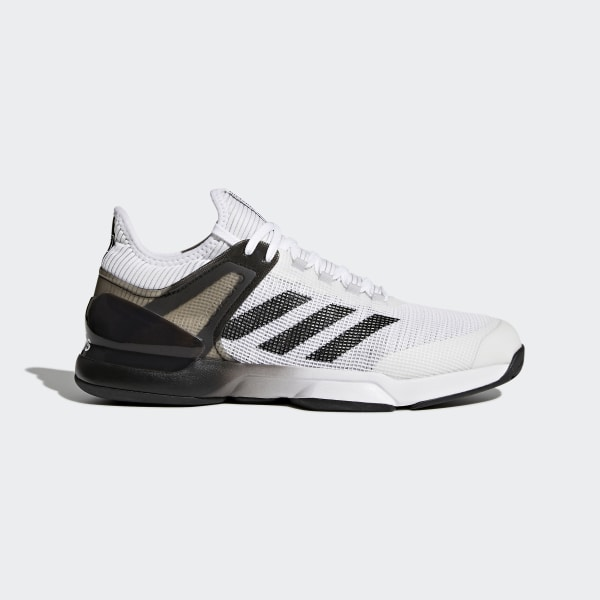 840219c6855 adizero Ubersonic 2.0 Shoes Cloud White   Core Black   Grey CQ1721