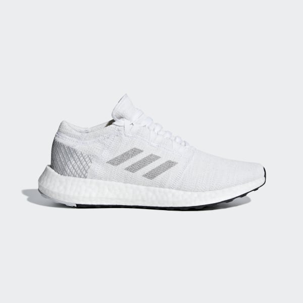 03f0af451 Pureboost Go Shoes Cloud White   Light Solid Grey   Grey Two B75664