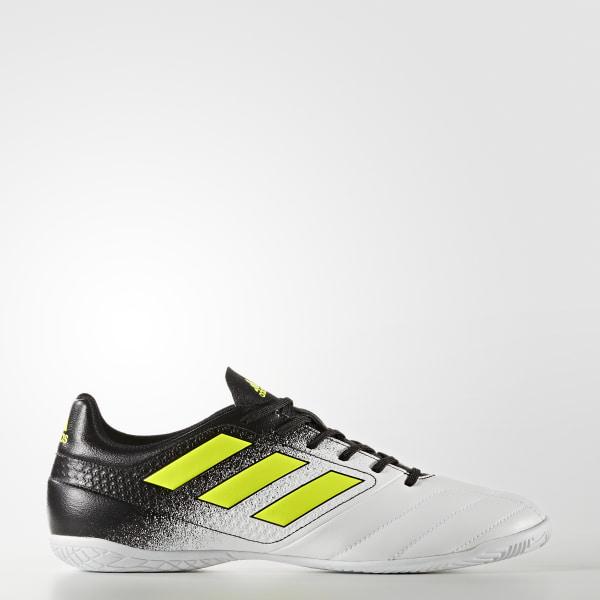 Calzado de Fútbol ACE 17.4 Indoor FTWR WHITE SOLAR YELLOW CORE BLACK S77100 8d48ff995b31d