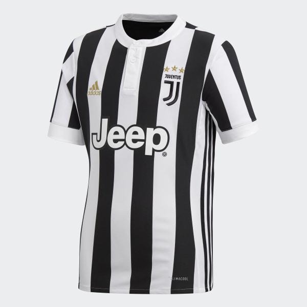 Camisa Infantil Juventus 1 WHITE BLACK AZ8703 4e90b35d6aaec