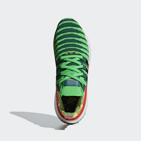 7c3b311aa0119 Dragonball Z EQT Support Mid ADV Primeknit Shoes Collegiate Green   Core  Black   Bold Gold