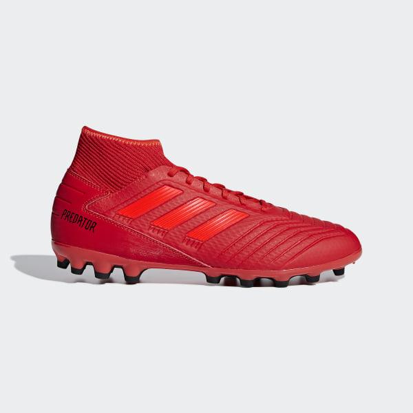6b48aca4c01ae Bota de fútbol Predator 19.3 césped artificial Active Red   Solar Red   Core  Black D97944