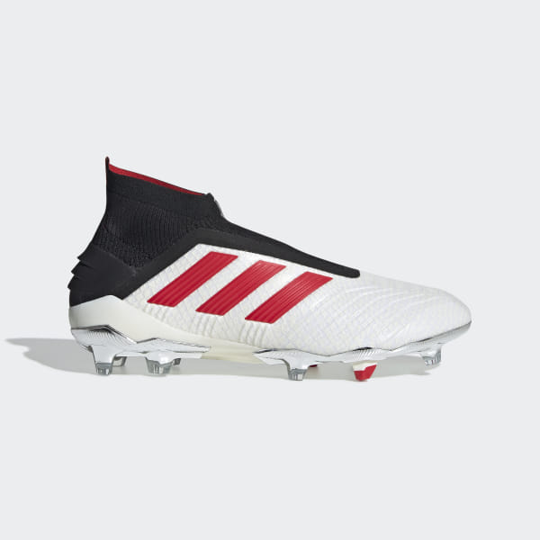 4a57323d2bff Predator 19+ Firm Ground Paul Pogba Boots Ftwr White   Red   Core Black  F37094
