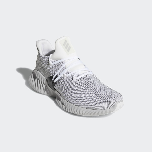 d5f6b4561 Alphabounce Instinct Shoes Cloud White   Grey Two   Core Black AQ0562