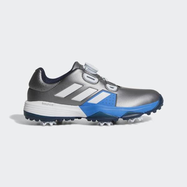 e16705af8 Adipower Boa Shoes Dark Silver Metallic   Cloud White   Blast Blue F33536