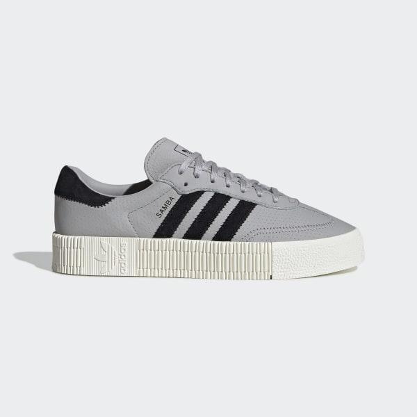 2dc2fa6229e SAMBAROSE Shoes Grey Two   Core Black   Off White CG6106