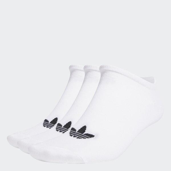 b7c94ea341200 Skarpety Trefoil Liner – 3 pary White   Black   Black S20273