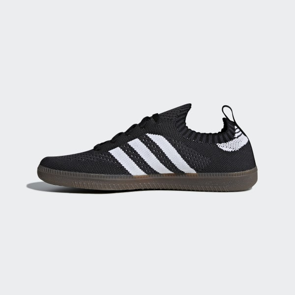 262dce3c33b34 Samba Sock Primeknit Shoes Core Black   Cloud White   Core Red CQ2218
