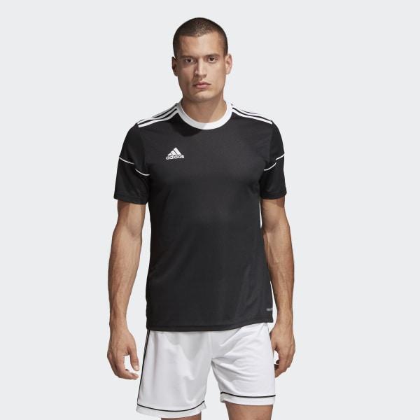Camisa Squadra 17 BLACK WHITE BJ9173 b2a57f98895b2