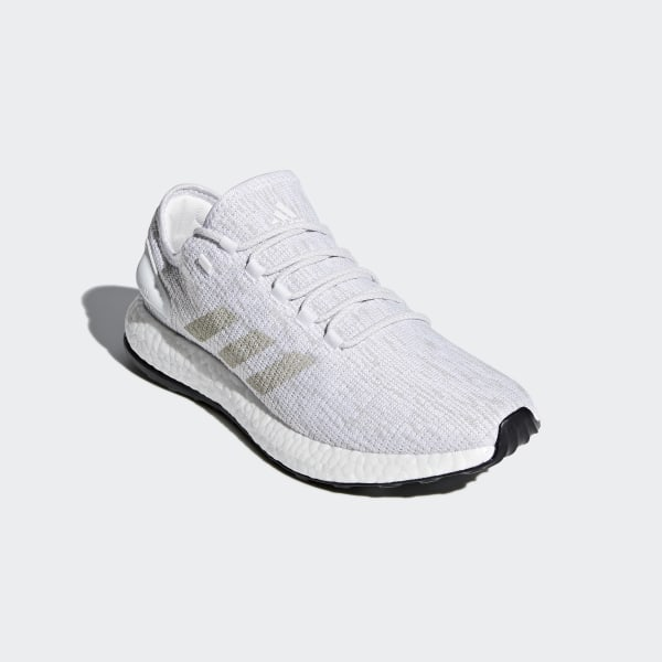 new concept 068ee 46adf Pureboost Shoes Ftwr WhiteGrey OneCrystal White BB6277