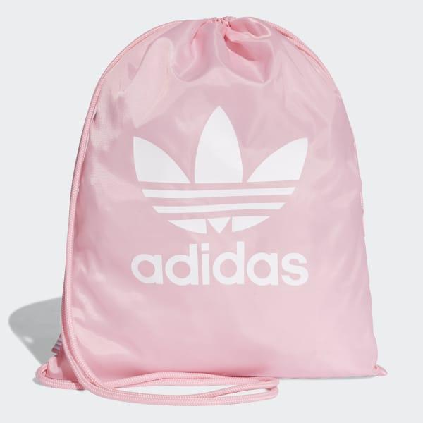 adidas Trefoil Gym Sack - Pink  a18979f90c352