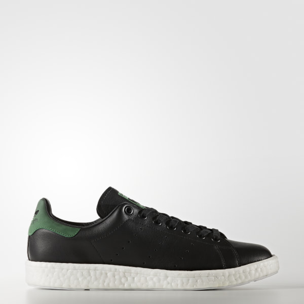 new style 2026c eeb58 Stan Smith Boost Shoes Core Black  Core Black  Green BB0009