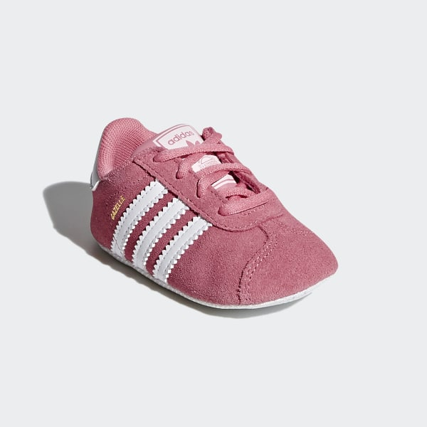 Gazelle Crib Shoes Chalk Pink Ftwr White Ftwr White CM8228 88a2e2717