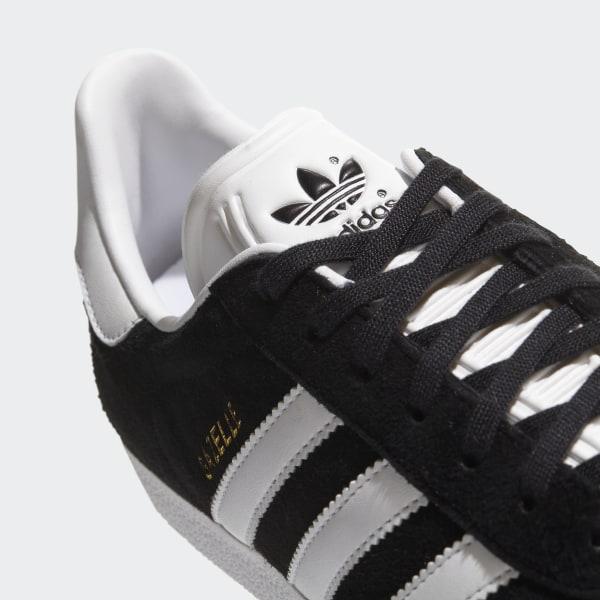 cheap for discount 5e2e8 b92e4 Gazelle Shoes Core Black  White  Gold Metallic BB5476