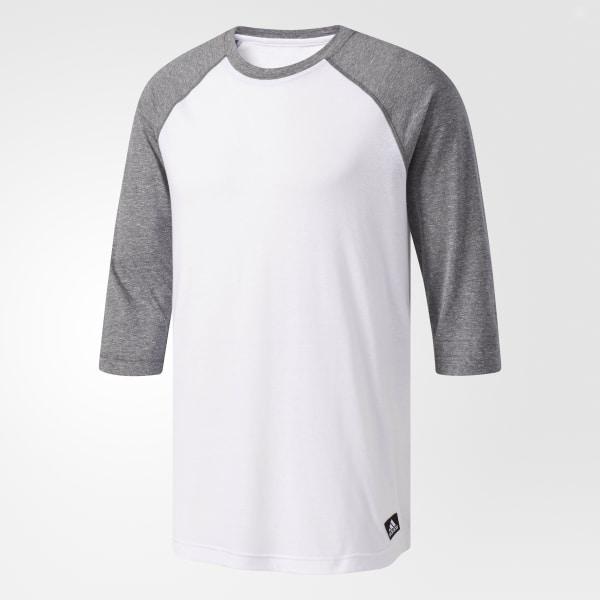 658a3694f00 adidas Called Up Baseball Tee - White