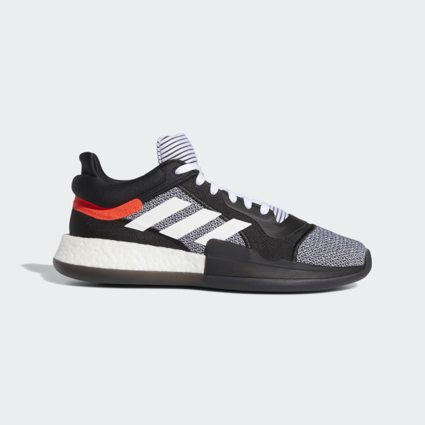 the best attitude ddbe4 a8c19 Marquee Boost Low Core Black  Ftwr White  Solar Red D96931