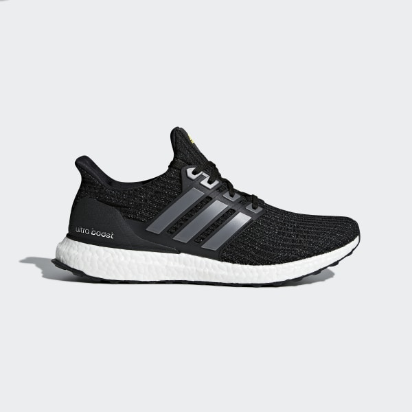 1df7536c7 Ultraboost LTD Shoes Core Black Iron Metallic Vivid Yellow BB6220