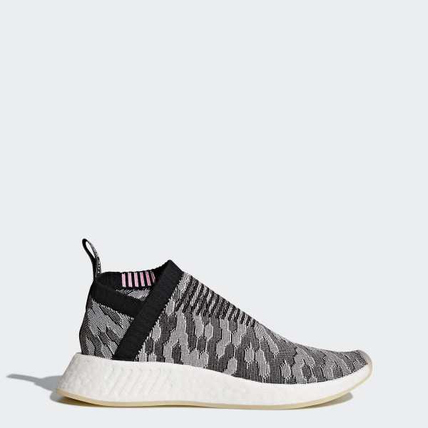 1dddf7cfa NMD CS2 Primeknit Shoes Core Black   Core Black   Wonder Pink BY9312