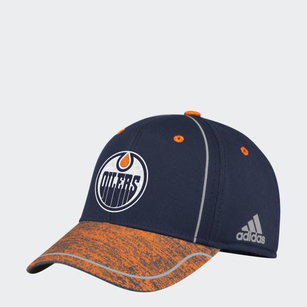 adidas Oilers Flex Draft Hat - Nhleoi  09a45331e