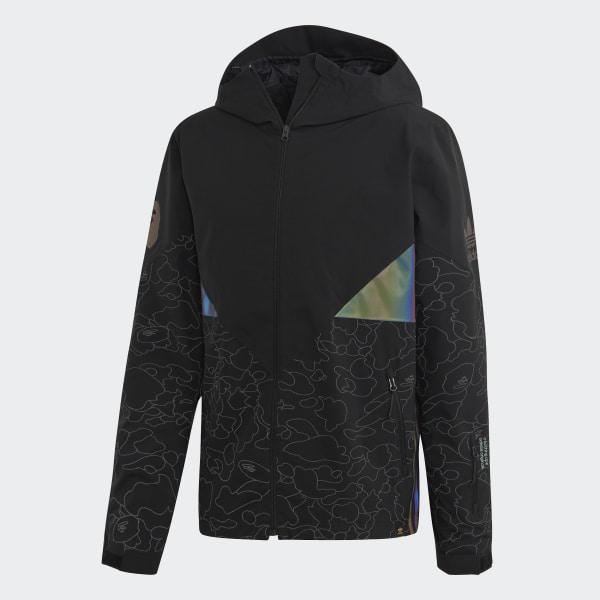 check out 9f69a ec346 BAPE x adidas Snow Jacket Black DU0202
