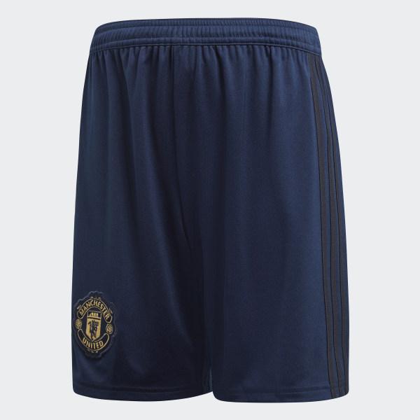 ba9a51083b2e3 Pantalón corto tercera equipación Manchester United Collegiate Navy   Night  Navy   Matte Gold DQ0095