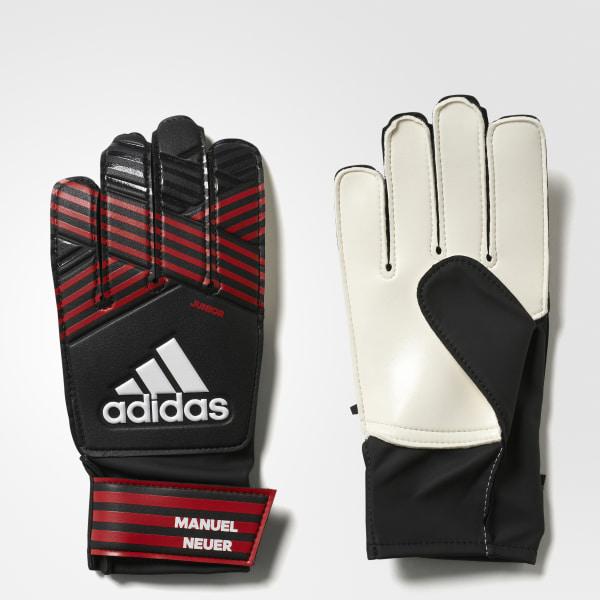 ACE Junior Manuel Neuer Gloves Black   Fcb True Red BS1555 978ede2cb