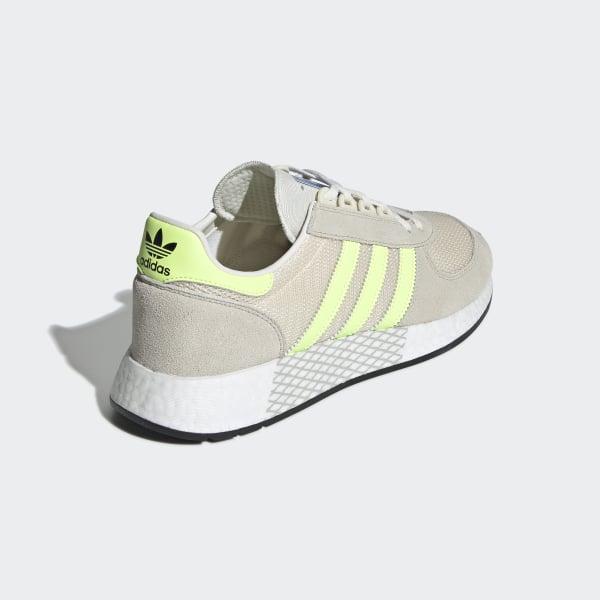 00b638d9447 Marathon Tech Shoes Clear Brown   Hi-Res Yellow   Ecru Tint G27418