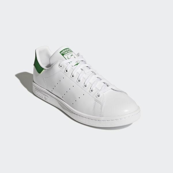 size 40 d1060 12bdd Chaussure Stan Smith Footwear White   Core White   Green M20324