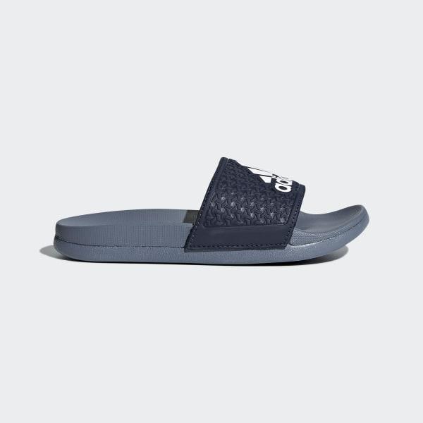 b0c925526c17 adidas adilette Cloudfoam Plus Slides - Blue