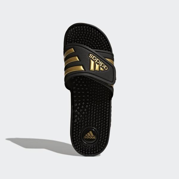 9ba0d3924d0 Adissage Slides Core Black   Gold Metallic   Core Black CM7921
