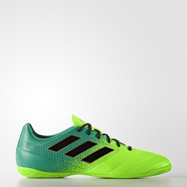 Chuteira ACE 17.4 - Futsal SOLAR GREEN CORE BLACK CORE GREEN BB5976 2afefb69e958c