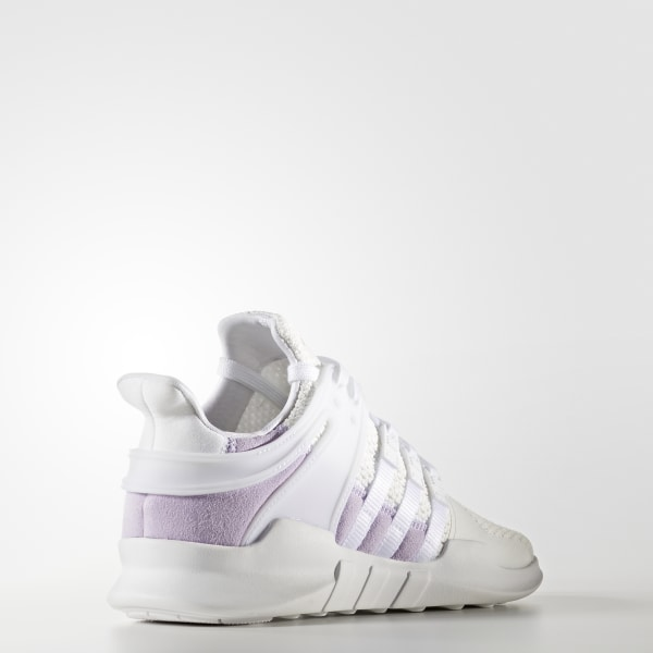 cbf3213b69638a EQT Support ADV Shoes Cloud White   Cloud White   Purple Glow BY9111