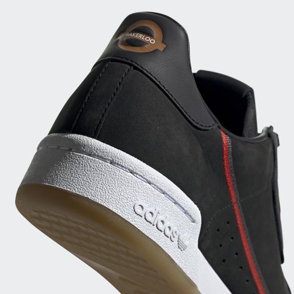 timeless design b4e42 e9f8f Originals x TfL Continental 80 Shoes Core Black  Grey Six  Gum 3 EE7270