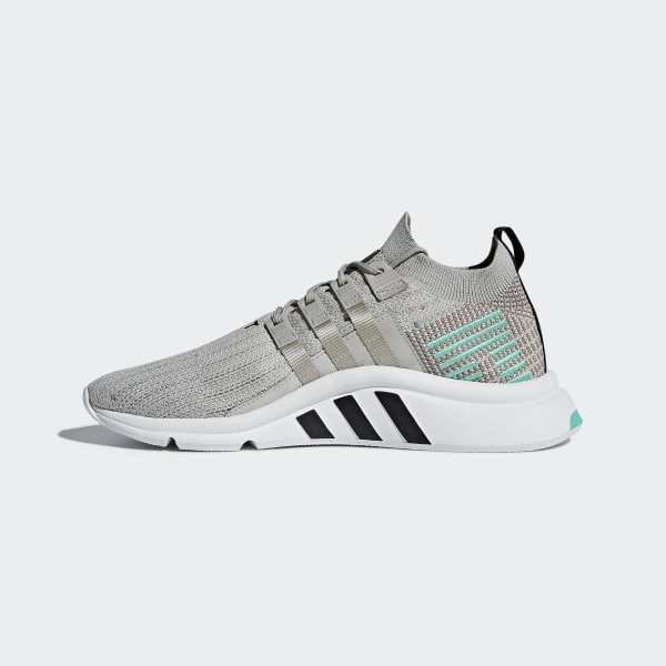 the latest bb895 95d1d EQT Support Mid ADV Primeknit Shoes GreySesameCrystal WhiteBlue B37979