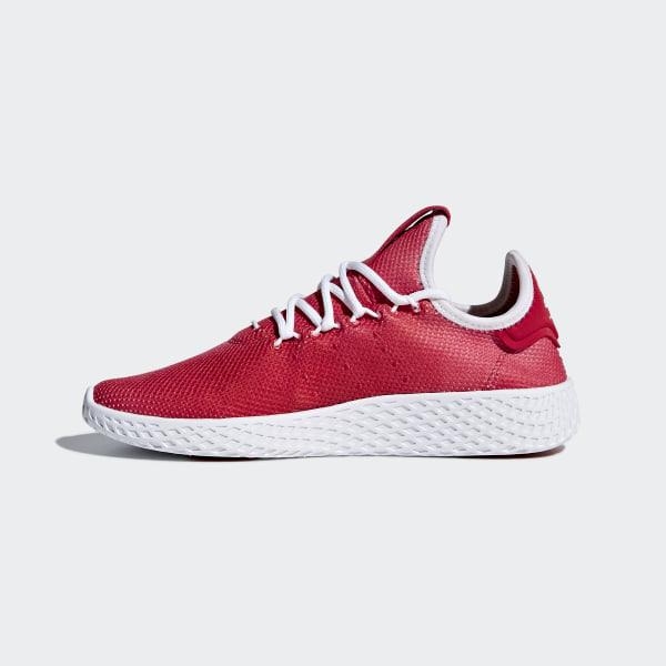 finest selection 285a9 dfd96 Pharrell Williams Tennis Hu Shoes Scarlet   Ftwr White   Ftwr White CQ2301