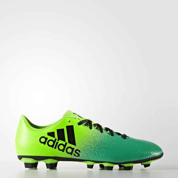 premium selection 8d89a ece72 Botas de fútbol X 16.4 Terreno Flexible SOLAR GREEN CORE BLACK CORE GREEN  BB5939
