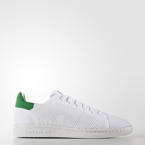 d27f58076b0 Stan Smith Primeknit Shoes Cloud White   Cloud White   Green S75351