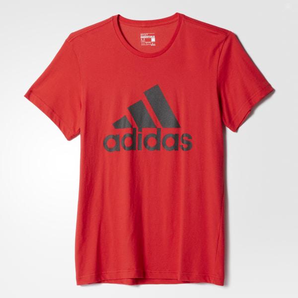b71a623e1 adidas Men's Sport Essentials Logo Tee - Red | adidas Canada