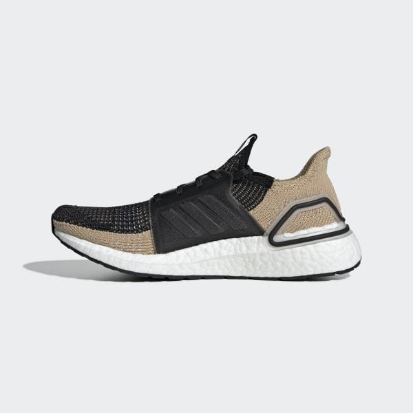 b058a535fe4ec Ultraboost 19 Shoes Core Black   Raw Sand   Grey Six F35241
