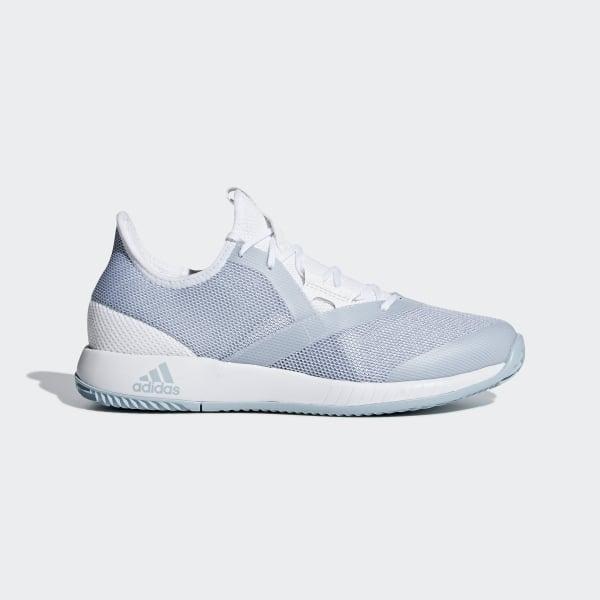 online retailer 159e7 120e0 Chaussure adizero Defiant Bounce Ftwr White  Ash Grey  Ftwr White CG6350