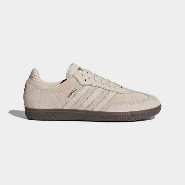 8660cd1888faa1 Samba FB Shoes Linen Linen Gold Metallic CQ2090