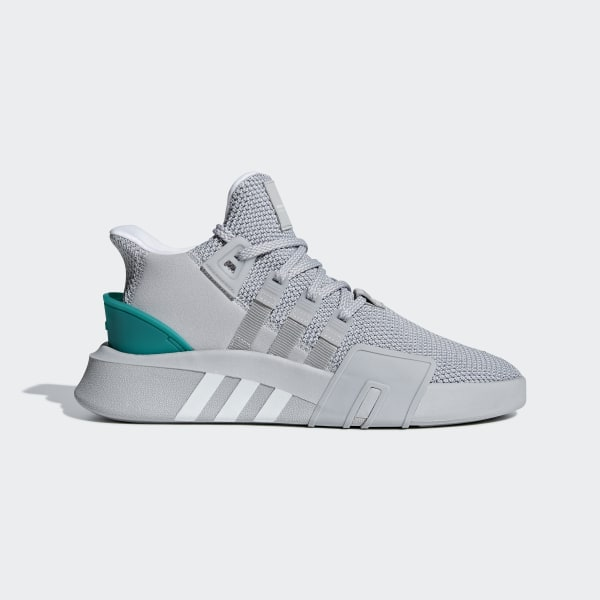 79caf307e7e0 Chaussure EQT Bask ADV Grey Two   Ftwr White   Sub Green B37514