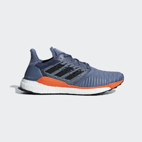 7792e53017829 SolarBoost Shoes Tech Ink   Grey Two   Hi-Res Orange CQ3169