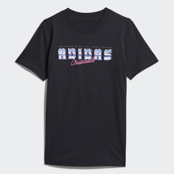 58366344b5f6 adidas Graphic Tee - Black