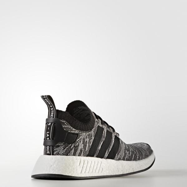 47f19181f NMD R2 Primeknit Shoes Core Black   Core Black   Cloud White BY9409