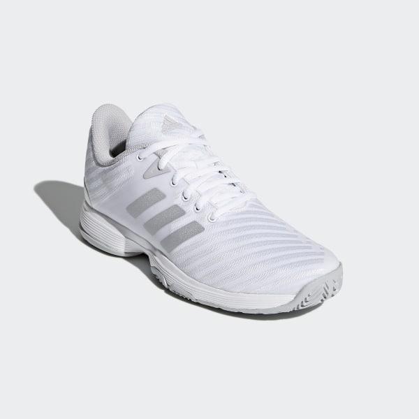 4ff2cc853f30 Barricade Court Shoes Cloud White   Matte Silver   Grey DB1746