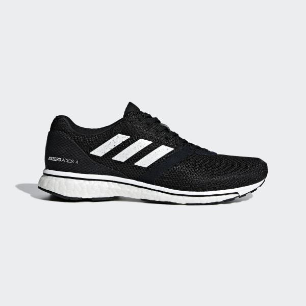 size 40 92483 ba55d Zapatilla Adizero Adios 4 Core Black  Ftwr White  Core Black B37377