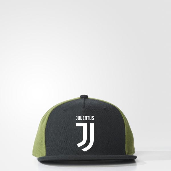 Juventus Flat-Brim Hat Black   Craft Green   White CD9141 4ade56a73e5